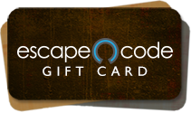 Order an Escape Code gift card!