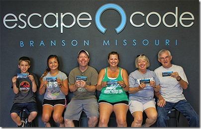 Top family attractions in Branson, Missouri - Escape Code