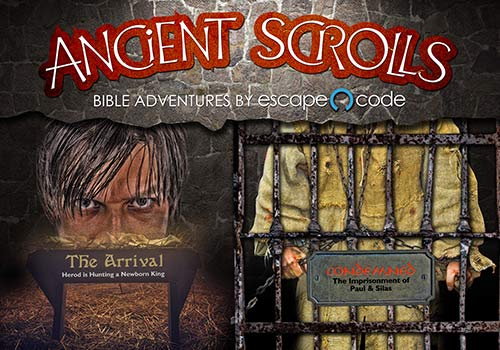 Ancient Scrolls by Escape Code in Branson Missouri