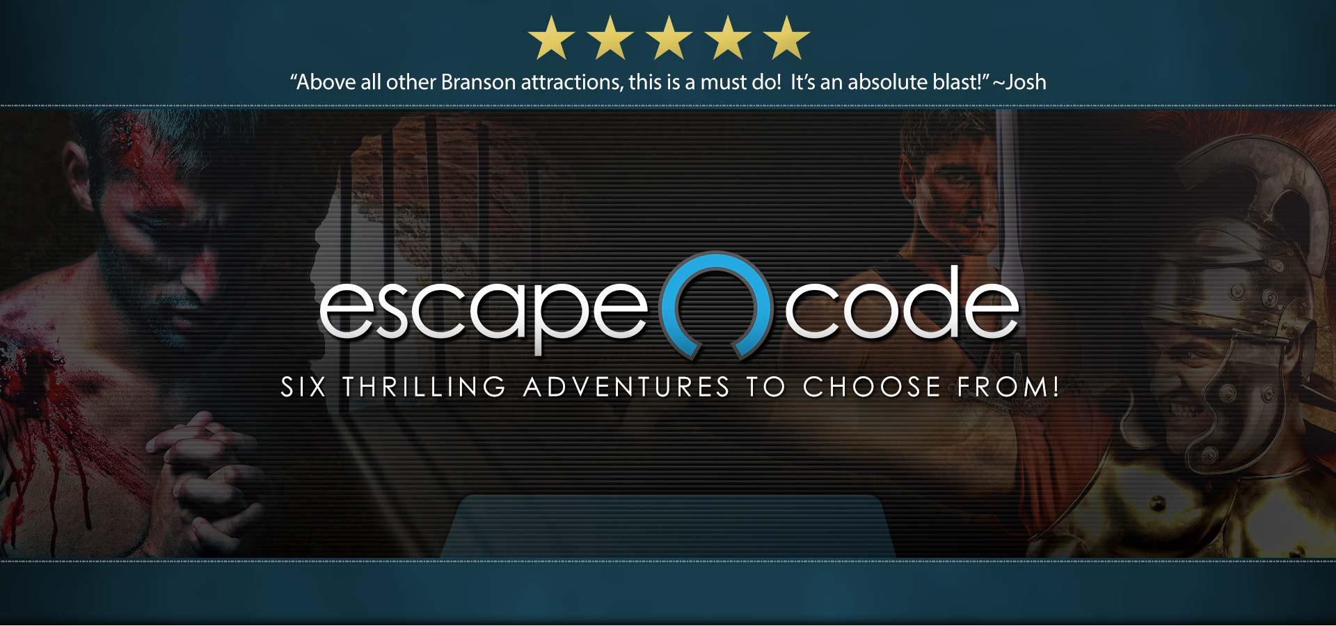 Escape Code | Branson Missouri | Escape Room