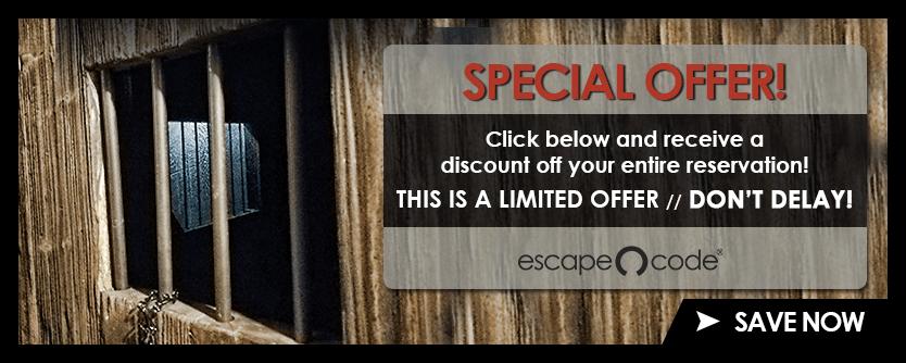 Escape Code BIG SAVINGS!
