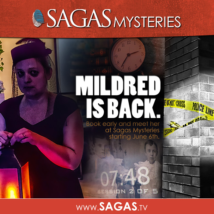 Sagas Mildred is Back Ad