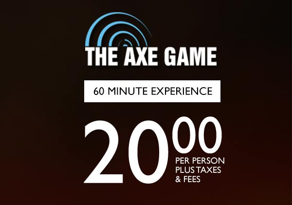 The Axe Game Pricing